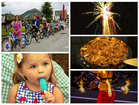 2nd Annual Independence Day Celebration Collage