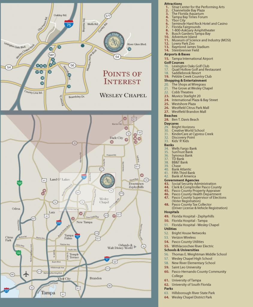 Avalon Park West Location Map
