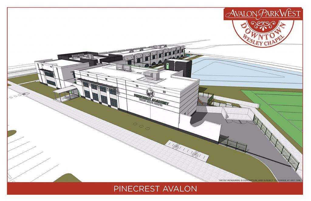 Downtown Avalon Park West pincrest academy