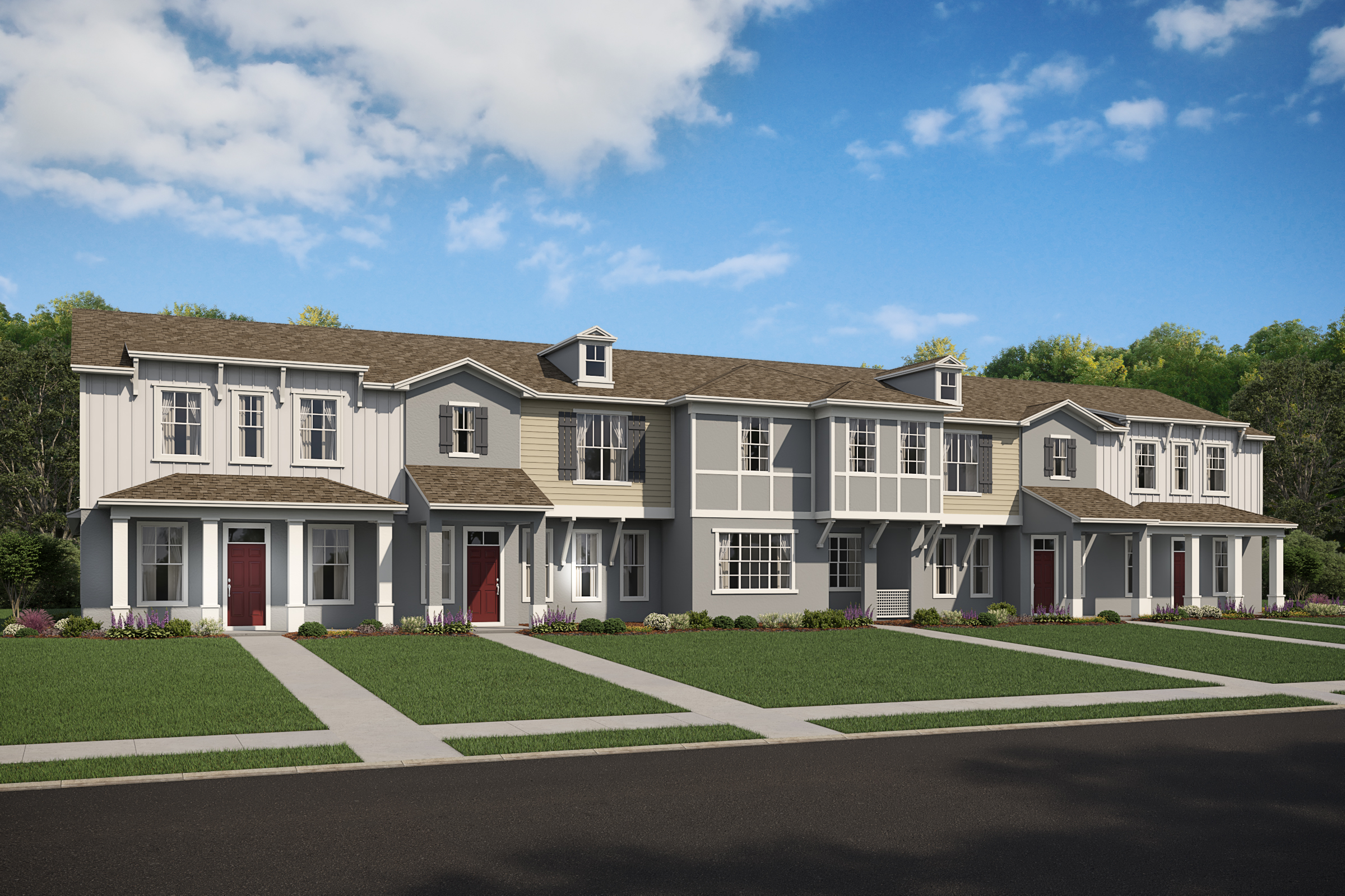 New homes conceptual model